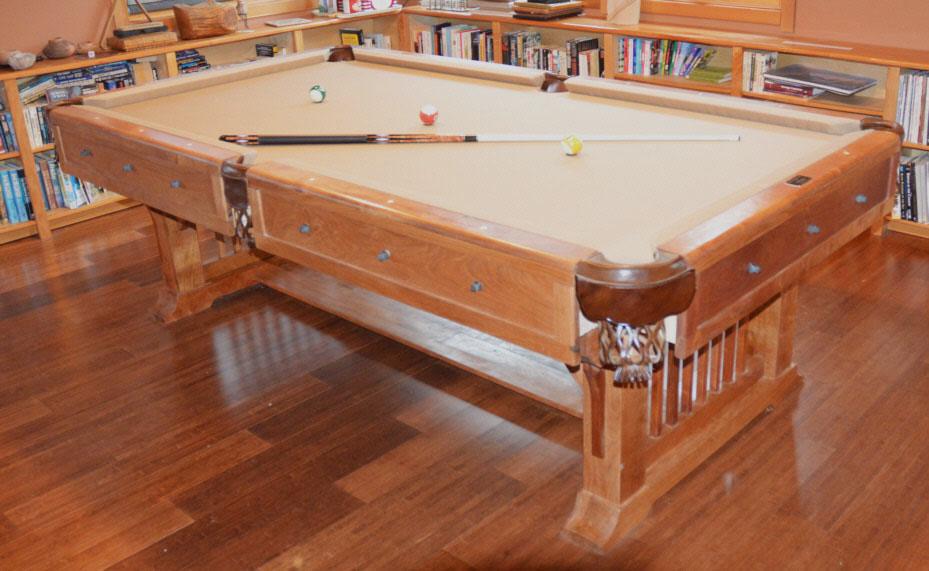 1 Mesquite pool table