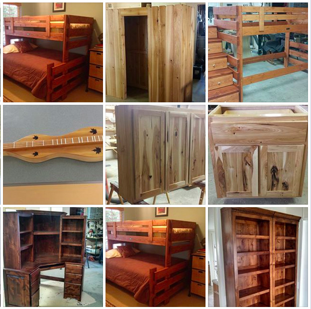 Bet you haven't seen a Facebook page like Edwin's. He's posted dozens, dozens, and dozens of photos of his work. This is one busy woodworker!