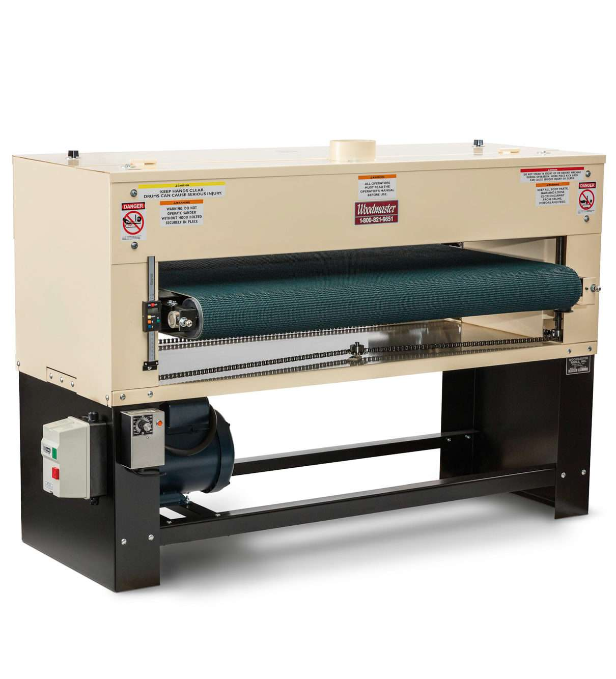 50 7 5 Hp Single Drum Sander
