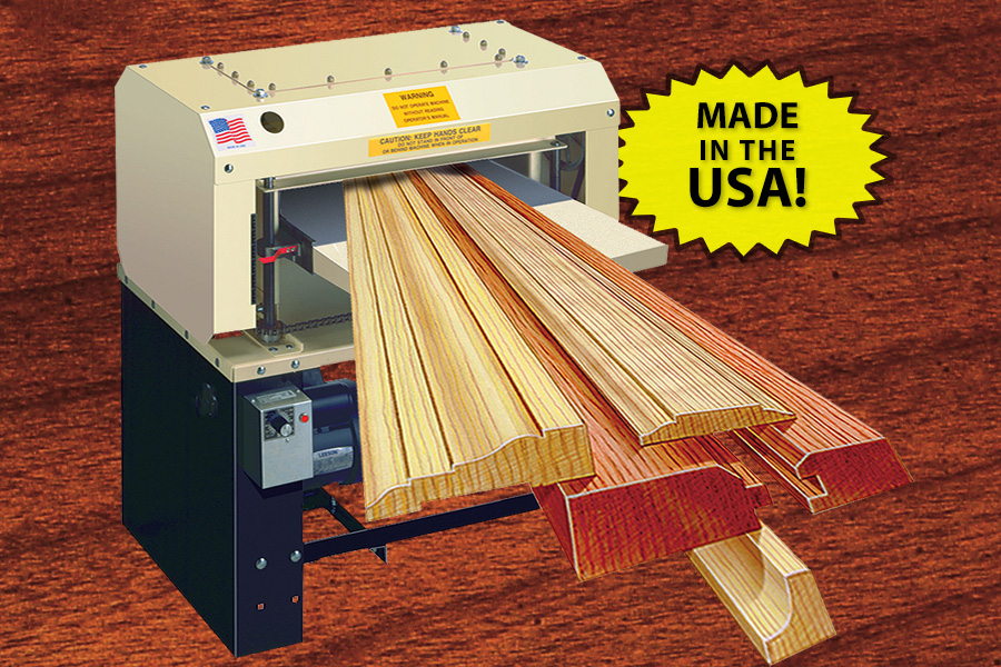 Electric Wood Planers Molding Machines Made In Usa
